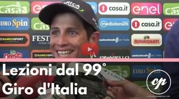 3 Lezioni +1 dal 99°Giro d'Italia