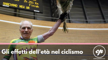 Gli effetti dell'età nel ciclista